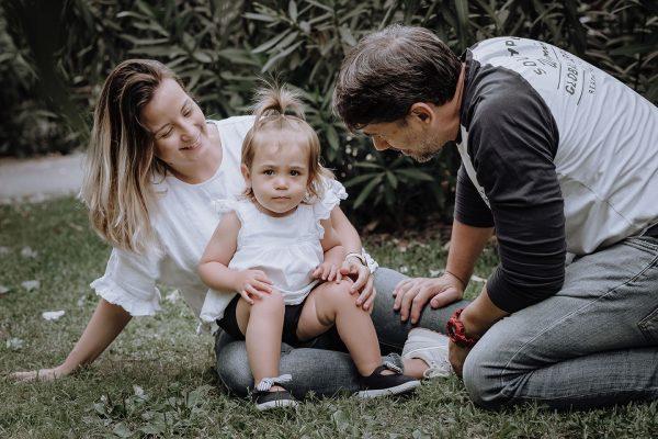 Sesiones familiares en exterior